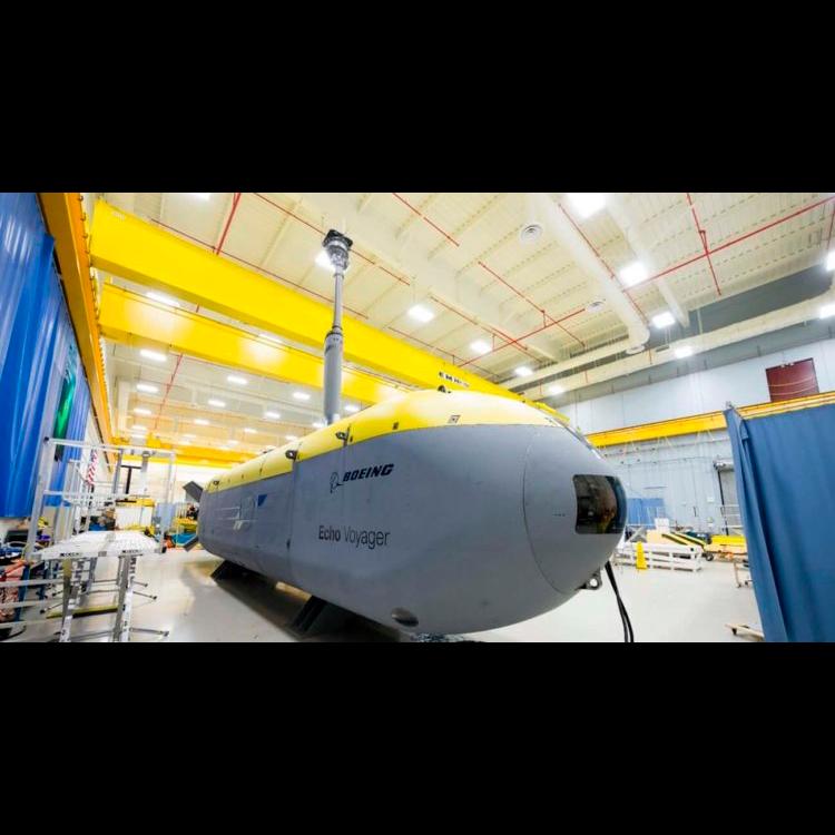 Робот-субмарина вышла в открытое море