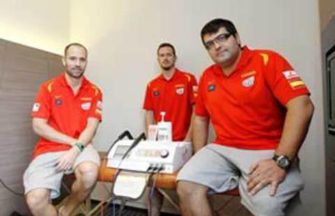Применение аппарата INDIBA activ в спортивной медицине