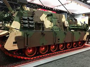 Создана американская БРЭМ для транспортировки Abrams