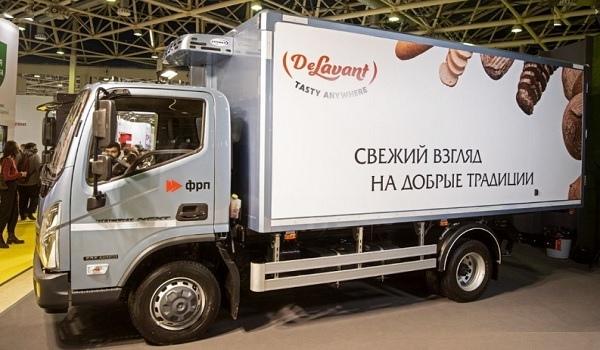 ГАЗ привез на московскую выставку новый рефрижератор