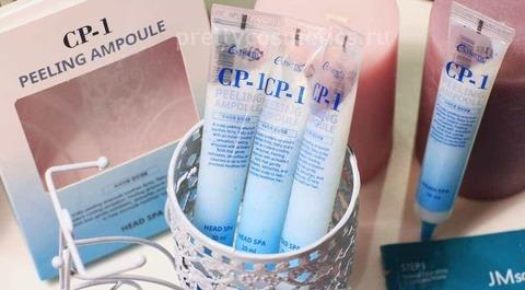 Корейская пилинг-сыворотка для кожи головы Esthetic House CP-1 Peeling Ampoule