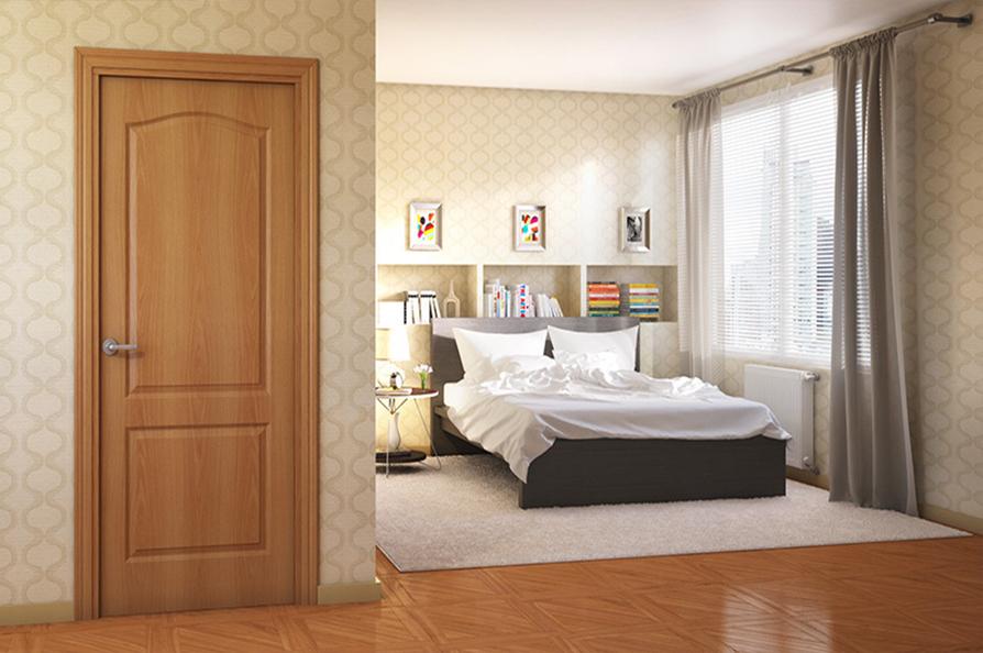 Новые двери с покрытием ПВХ