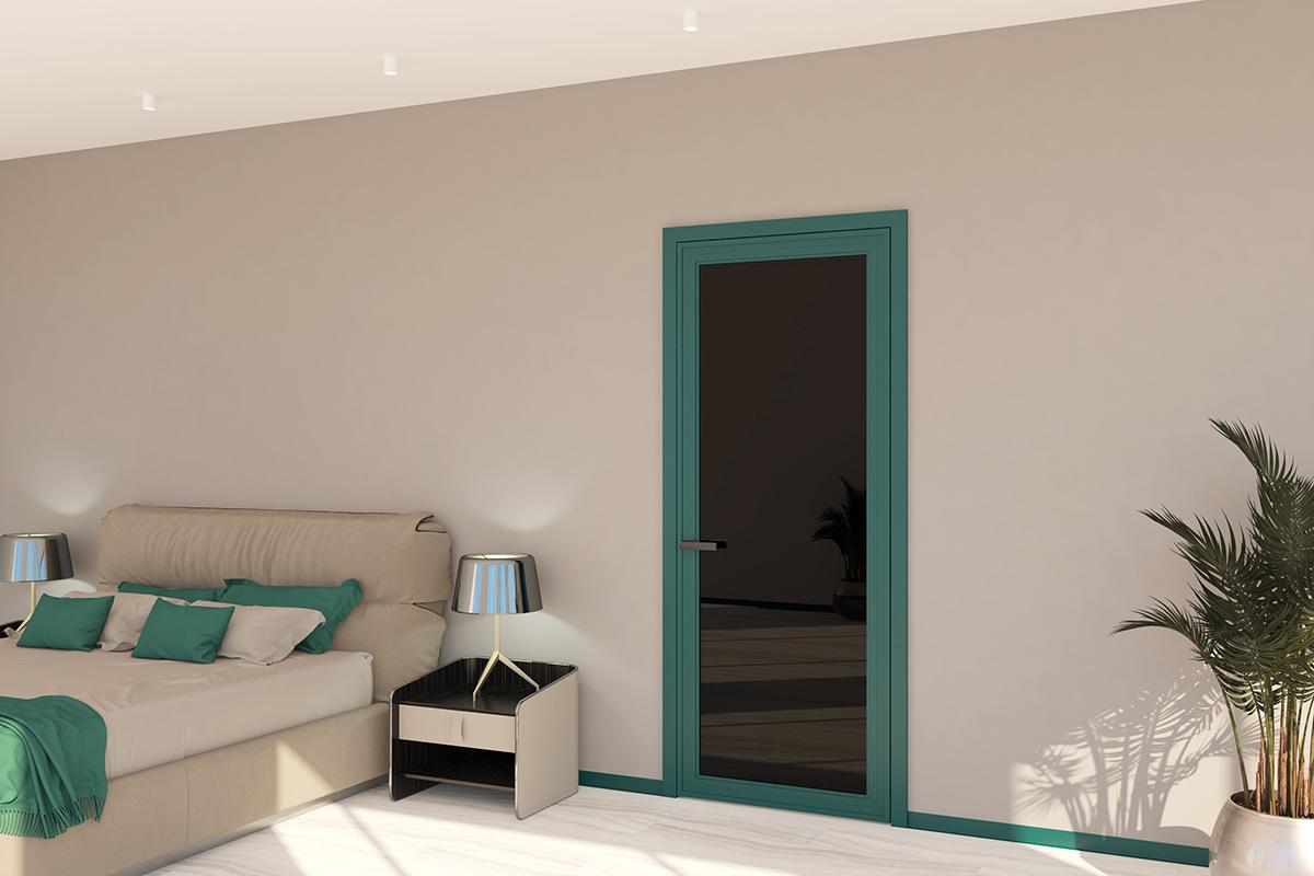 Новая серия алюминиевых дверей AGP от Profil Doors