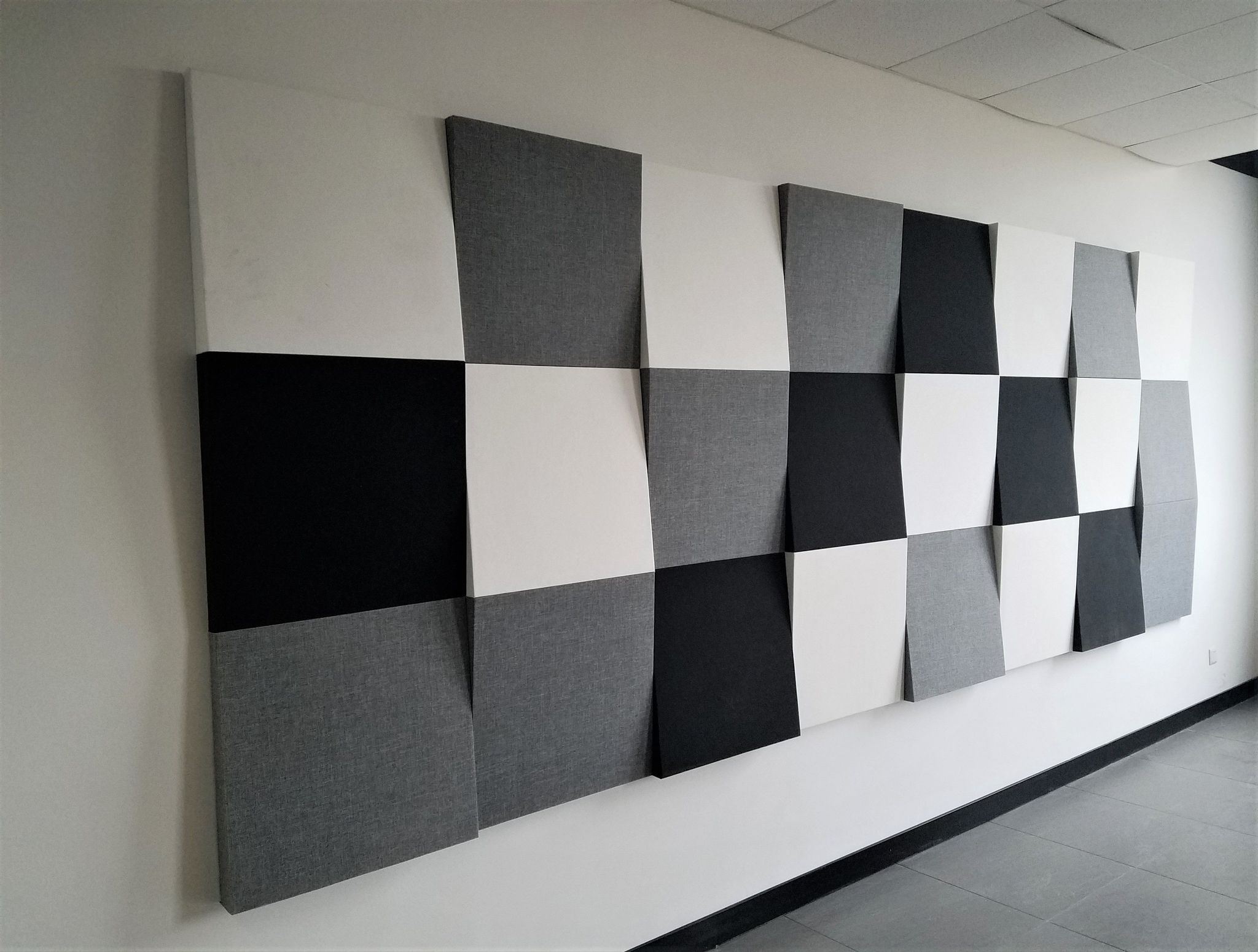Акустические панели звукопоглощающие и звукоизоляционные