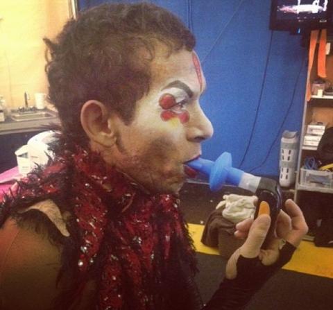 Артисты Цирка дю Солей использовали дыхательные тренажеры POWERbreathe во время гастролей в Россию
