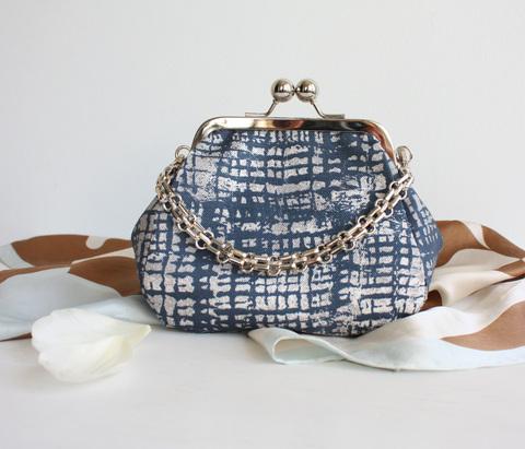 Шьем сумку с фермуаром 14 см