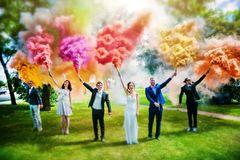 Что такое цветной дым?