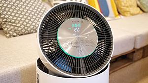 LG развернула рекламу воздухоочистителя PuriCare