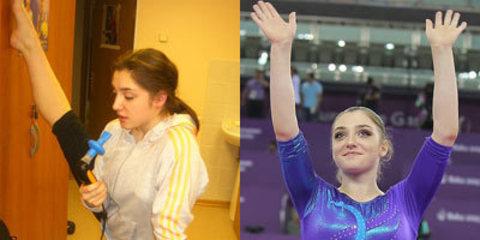 Поздравляем гимнастку Алию Мустафину со званием абсолютной чемпионки Европейских Игр 2015!