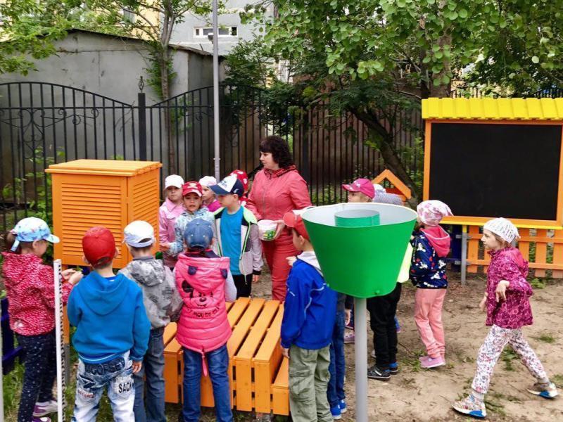 Разведка на метеоплощадку в детском саду №160 г. Тюмени