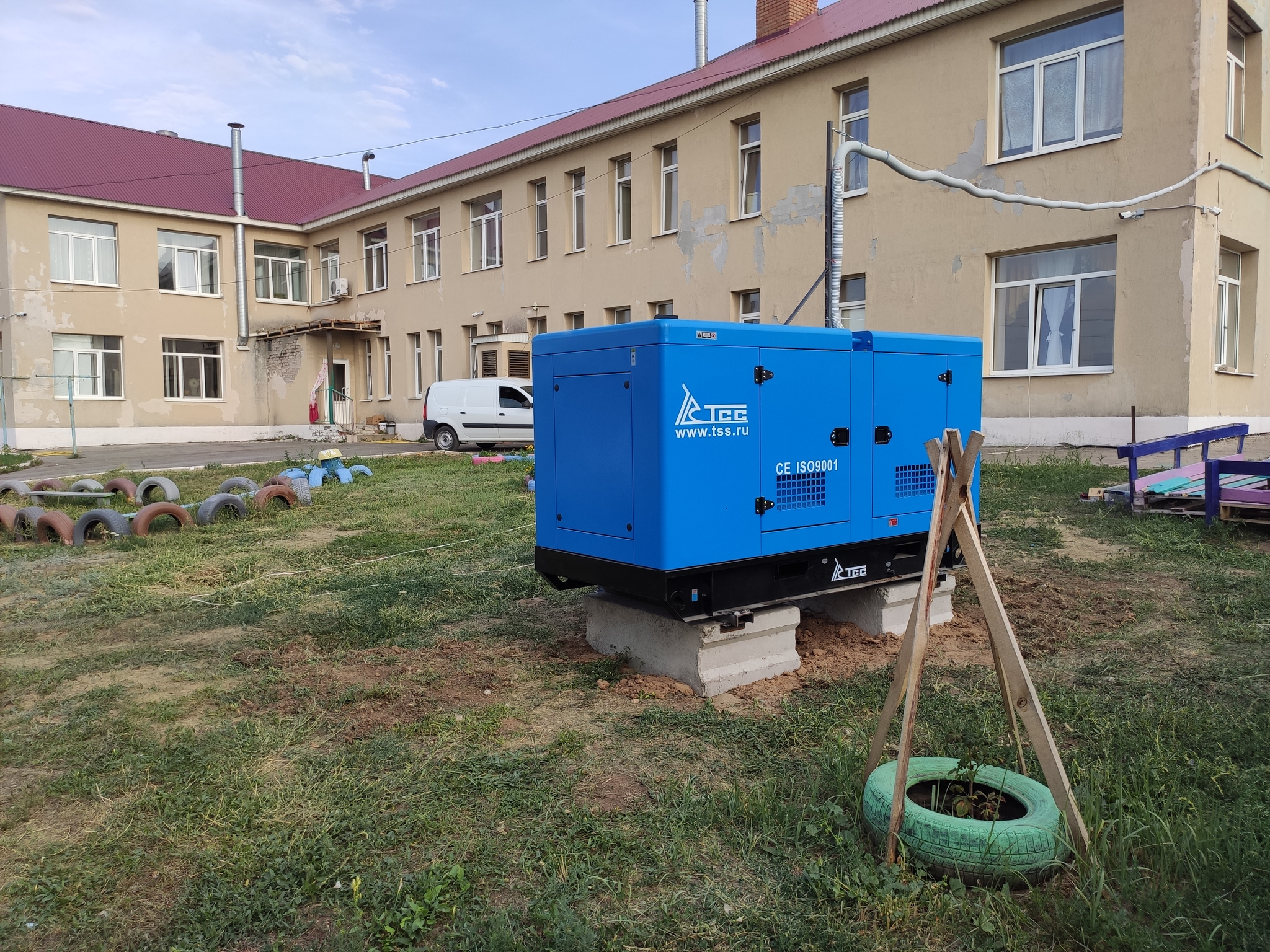 ДГУ 30 кВт для пансионата Самарской области