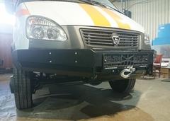 Силовой бампер на ГАЗель Бизнес 4WD