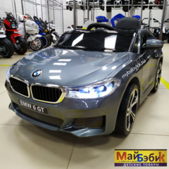 Свежие фото электромобиля BMW GT6 серебристого цвета