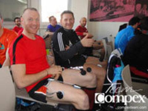 Электростимуляция Compex помогает бегунам готовиться к Парижскому марафону 12 апреля