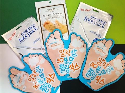 Носочки для ног - азиатская инновация для ухода за стопами в домашних условиях.
