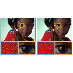 Нейросеть NVIDIA реконструирует фотографии