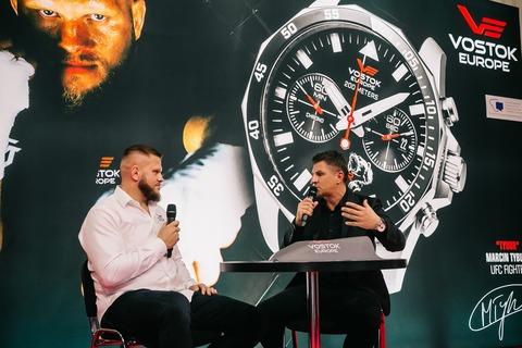 Что общего у часов Восток Европа и UFC?