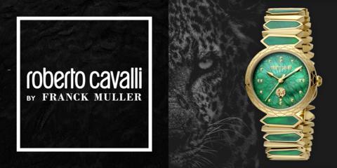 Новые часы из коллекции LOGO от Швейцарской марки Roberto Cavalli by Franck Muller удивляют с первого взгляда!