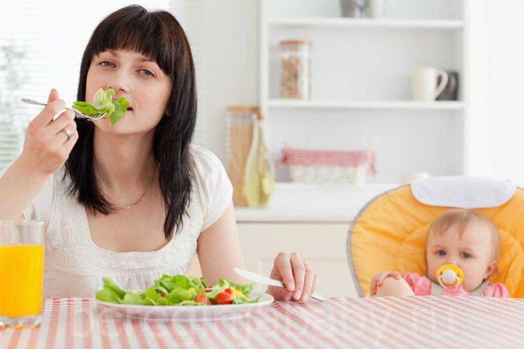 Какое питание должно быть после родов?