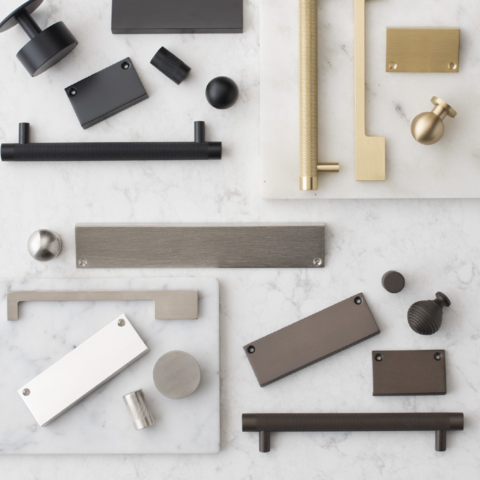 Разновидности ручек для мебельных изделий