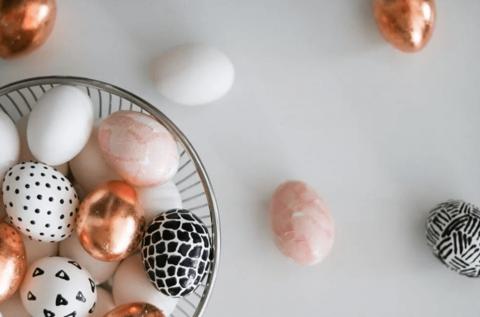 Готовимся к Пасхе: декор пасхальных яиц