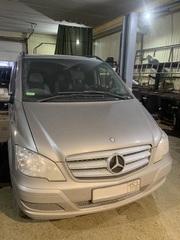Установка предпускового подогревателя на Mercedes-Benz Vito