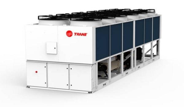 Винтовой компрессор применила Trane на тепловом насосе