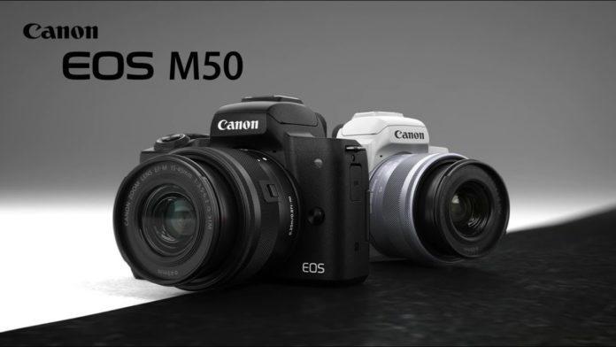 Опубликованы спецификации камеры Canon EOS M50 II