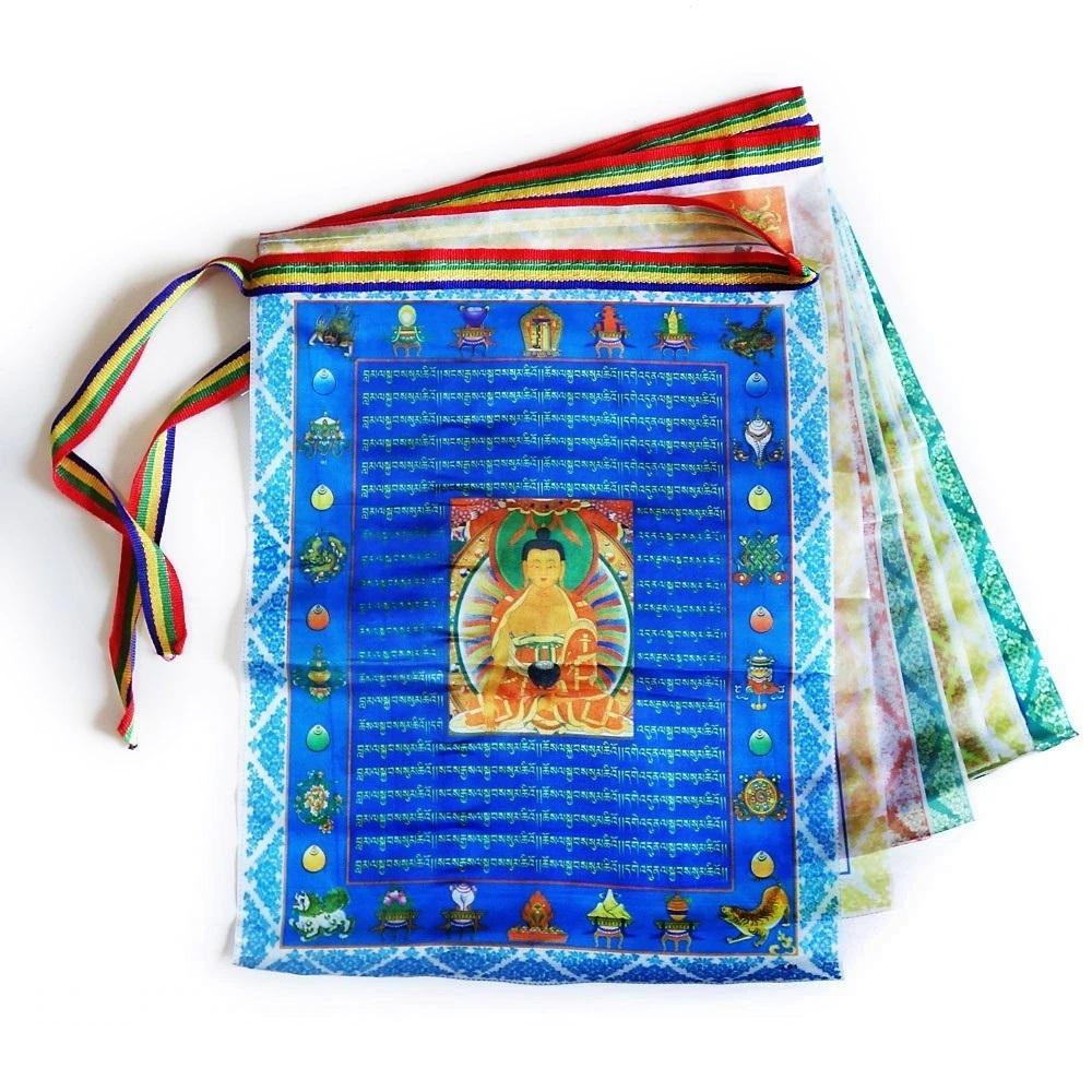 Тибетские флажки, счётчик мантр и пояса
