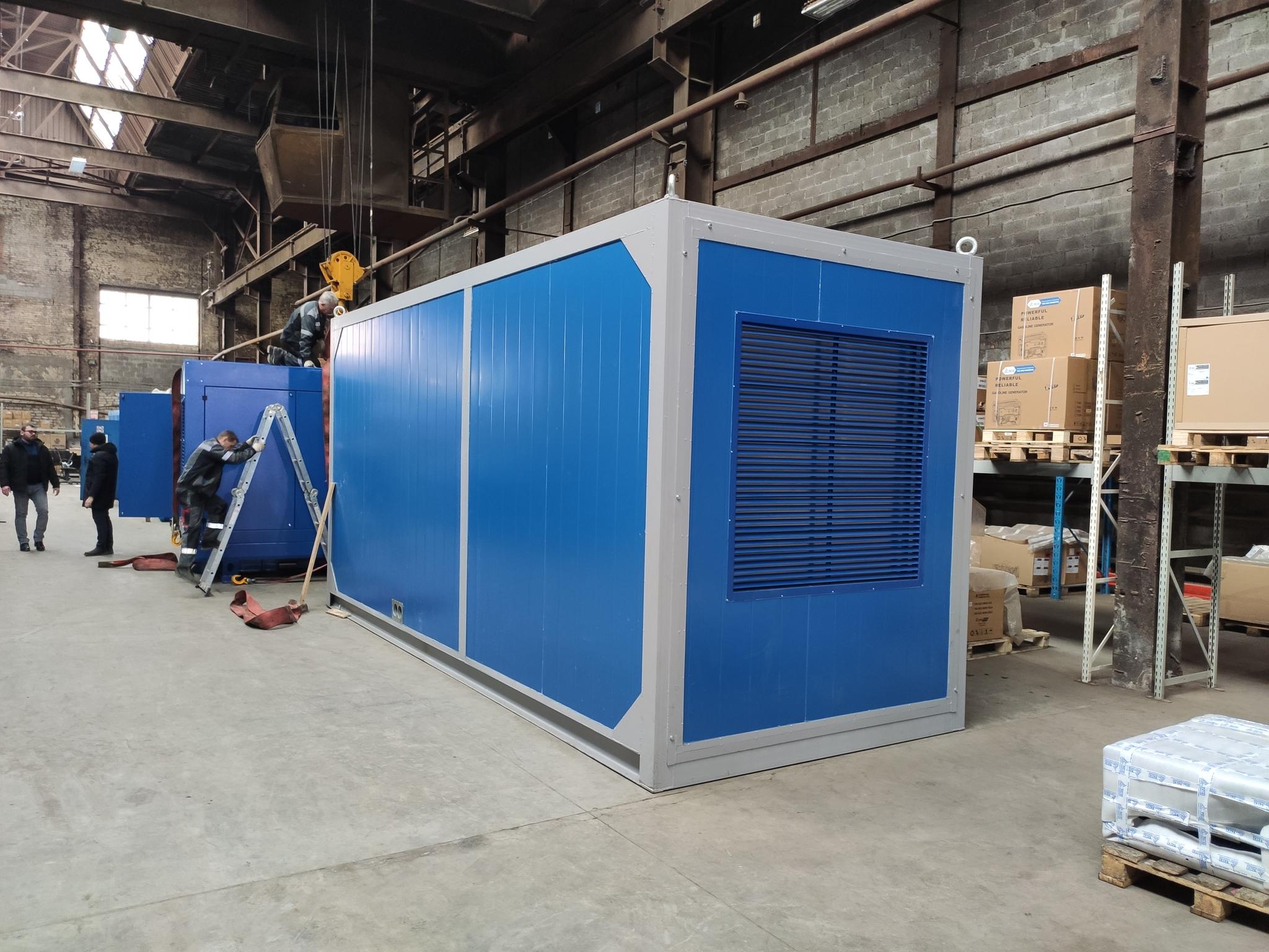 ДГУ ТСС 400 кВт для сельскохозяйственной компании в Самарской области