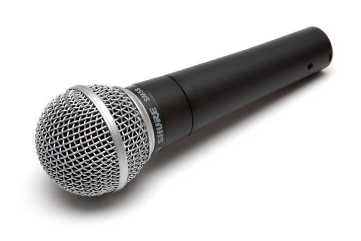 Микрофонная классика Shure SM58