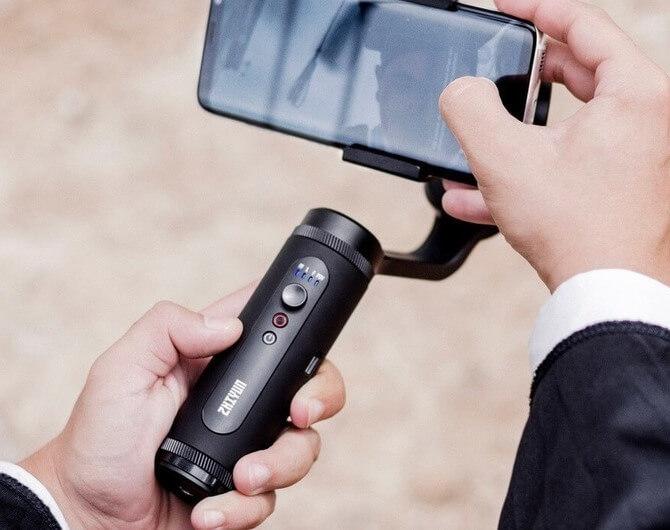 Обзор на стабилизатор для смартфона Zhiyun Smooth Q2