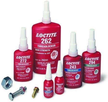 Полезная инфографика по применению продуктов Loctite
