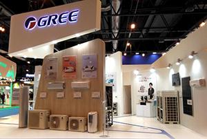GREE продемонстрировала европейцам свои новации на IFA 2018