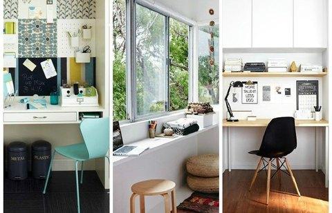5 идей как организовать рабочее место в маленьком пространстве