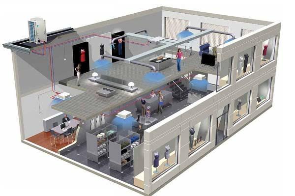 Проект кондиционирования – высокотехнологичные решения