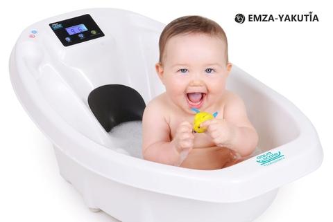 Детская ванночка с электронными весами и термометром Baby Patent Aqua Scale