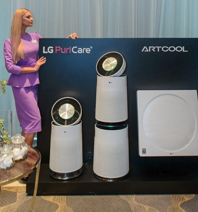 LG готовит презентацию креативного очистителя воздуха