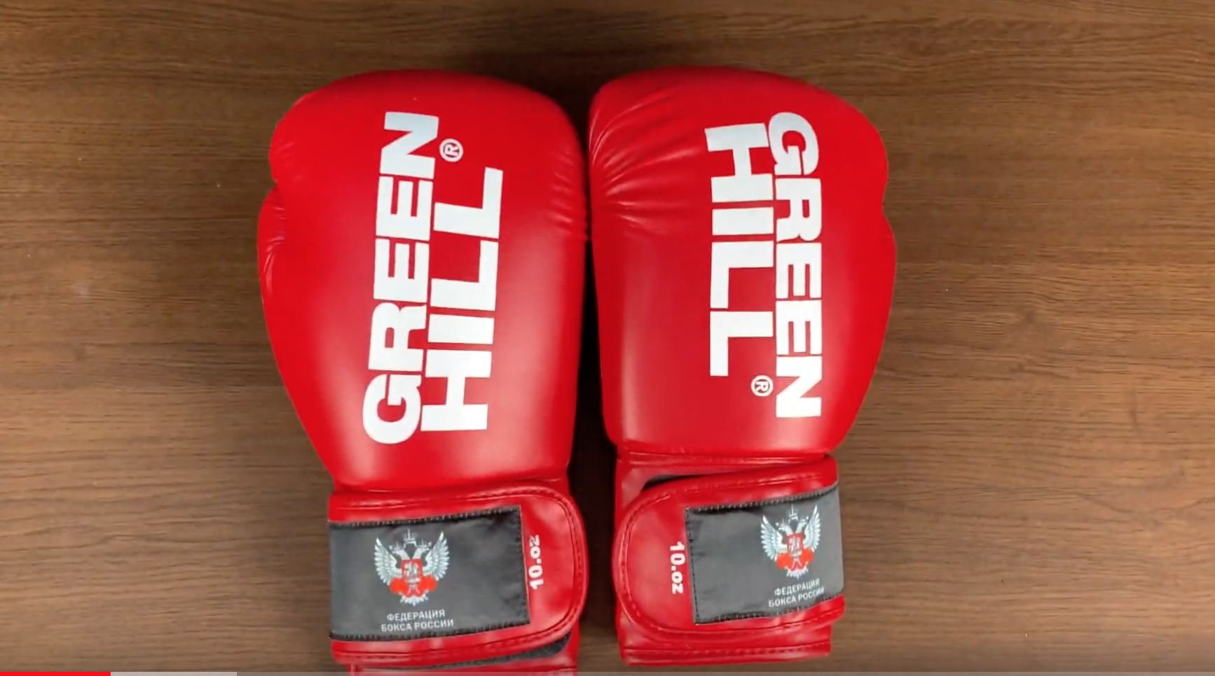 Обзор боксерских перчаток Green Hill. Модель REX