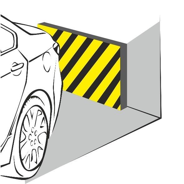 Отбойники, которые защищают не только стену, но и автомобиль
