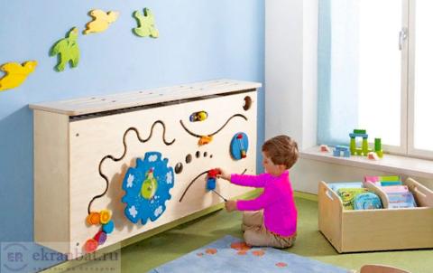 Как выбрать экран на батарею отопления и забыть о беспокойстве за ребенка?