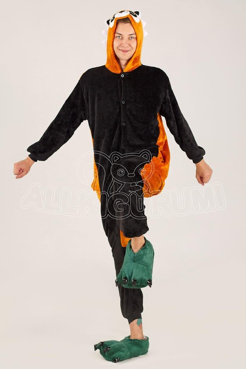 Обзор на пижаму кигуруми енота