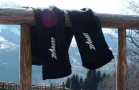 Тестирование носков ZAMST HA-1 и бандажей-налокотников ZAMST Arm Sleeve