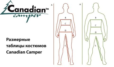 Как подобрать размер одежды Canadian Camper