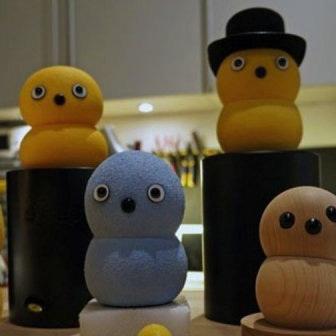 Робот Keepon научит малышей конструктивному общению