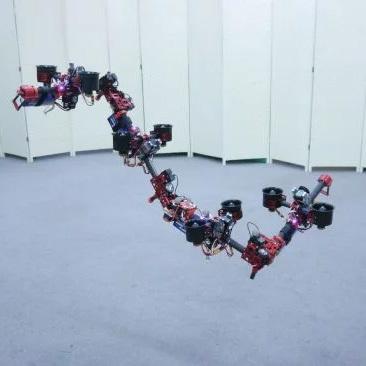 DRAGON - первый робот, меняющий форму
