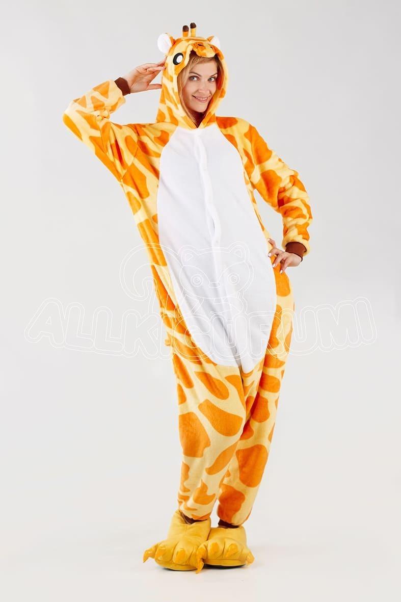 Обзор кигуруми жираф