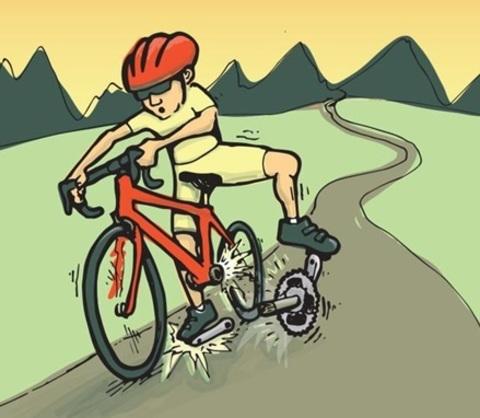 Что делать, если велосипед сломался вдалеке от дома