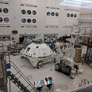 Тестируется марсоход NASA
