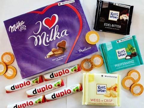 Наборы конфет I Love Milka